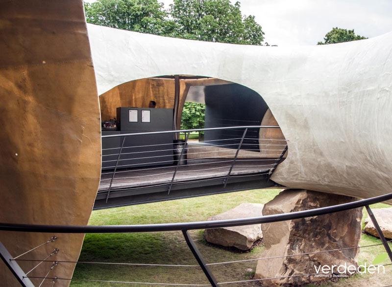 Serpentine gallery pavilion 2014 apertura y café,