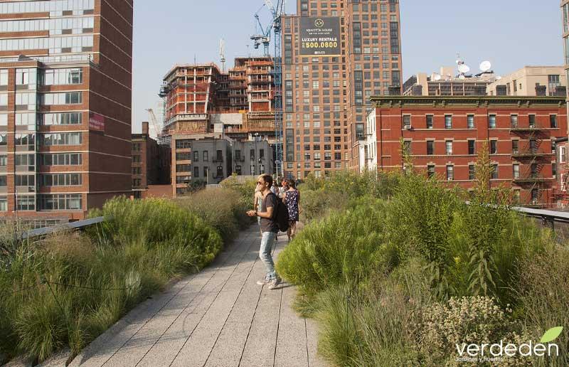 Highline Chelsea, entorno calle 28