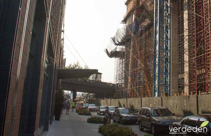 Highline, obras fase 3