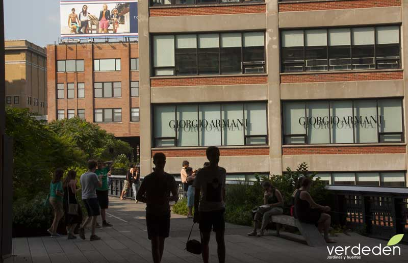 Highline, zona en rehabilitación