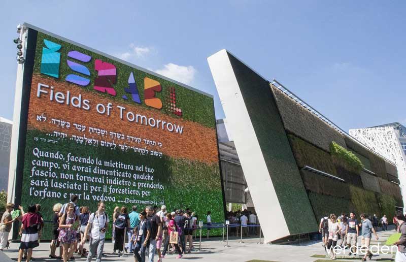 Expo2015 Milano Pabellón de Israel