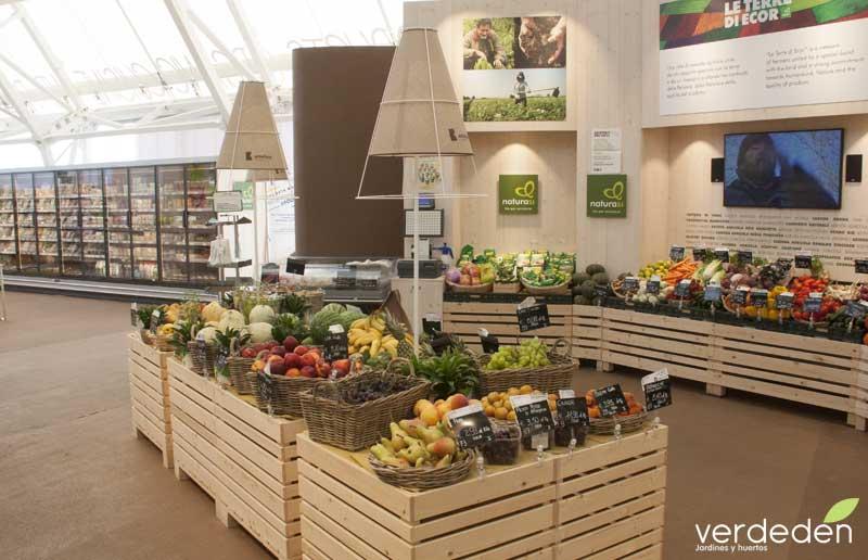 Expo2015 Milan Mercado Productos ecológicos