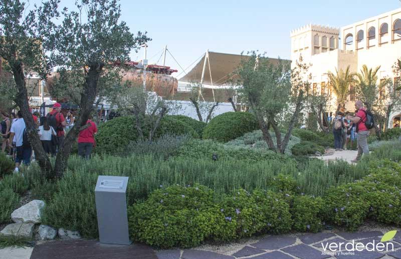 Expo2015 Milano Jardín Pabellón de Marruecos