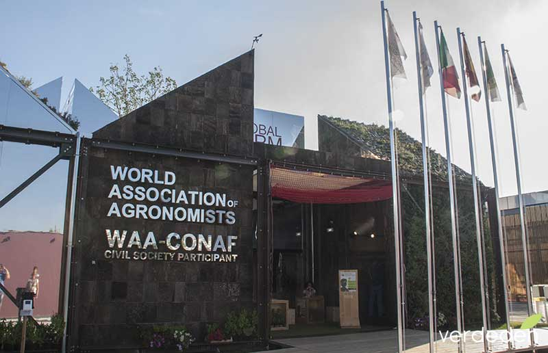 Expo2015 Pabellón World Association of Agronomist