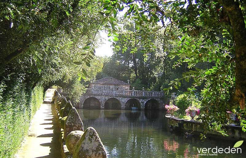 Jardines Pazo de Oca, estanque_Ruta de la Camelia