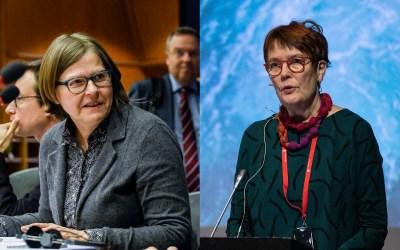 Vihreät naiset pääsivät eduskuntaan 1991 – Heidi Hautalan ja Satu Hassin podcast käy läpi muutoksen vuosikymmeniä