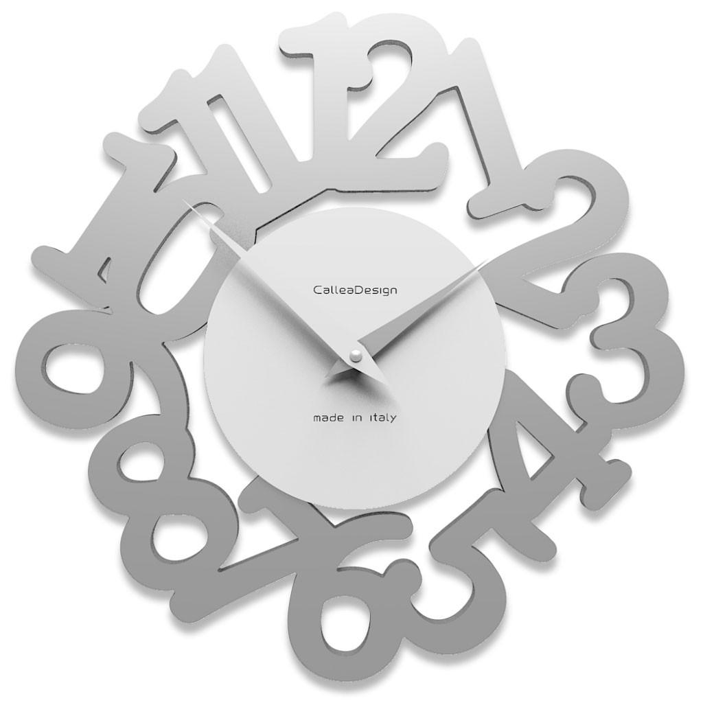 Nella pagina di ogni prodotto c'è la data di consegna stimata chè è. Callea Design Collezione Mat Orologio Da Parete In Stile Moderno In Legno Varie Tonalita