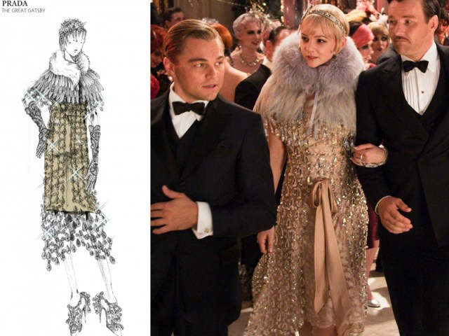 vestito Prada per Daisy nel film Il Grande Gatsby