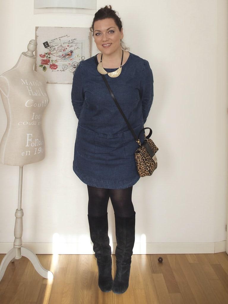 VerdementaBlog_outfit_curvy_abito_denim_Penneys 01