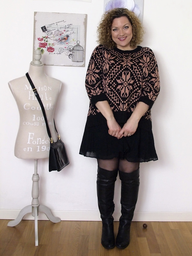 Verdementa_Blog-outfit-curvy-gonnellina-maglione-jacquard-7
