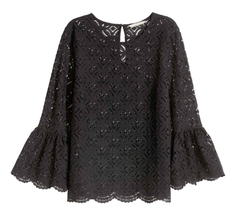 Top in pizzo h&m