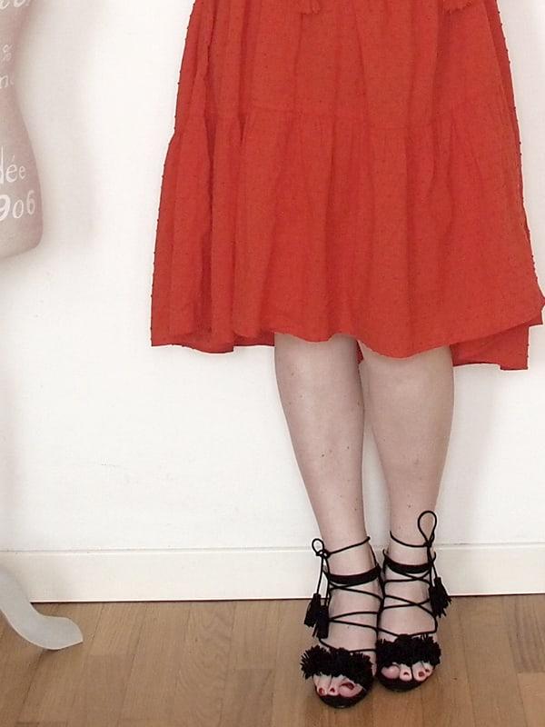 abito rosso H&H 07