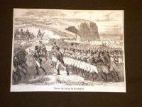 napoleone bonaparte cartolina battaglia