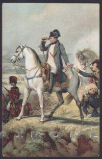 napoleone bonaparte cartolina a cavallo