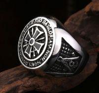 i templari anello con sigillo