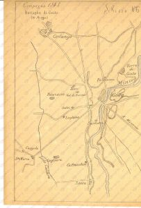 militaria storia militare carta militare campagna 1848