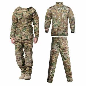 uniforme verde mimetica