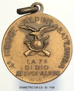medaglie degli alpini