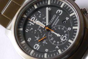 seiko cronografo militare