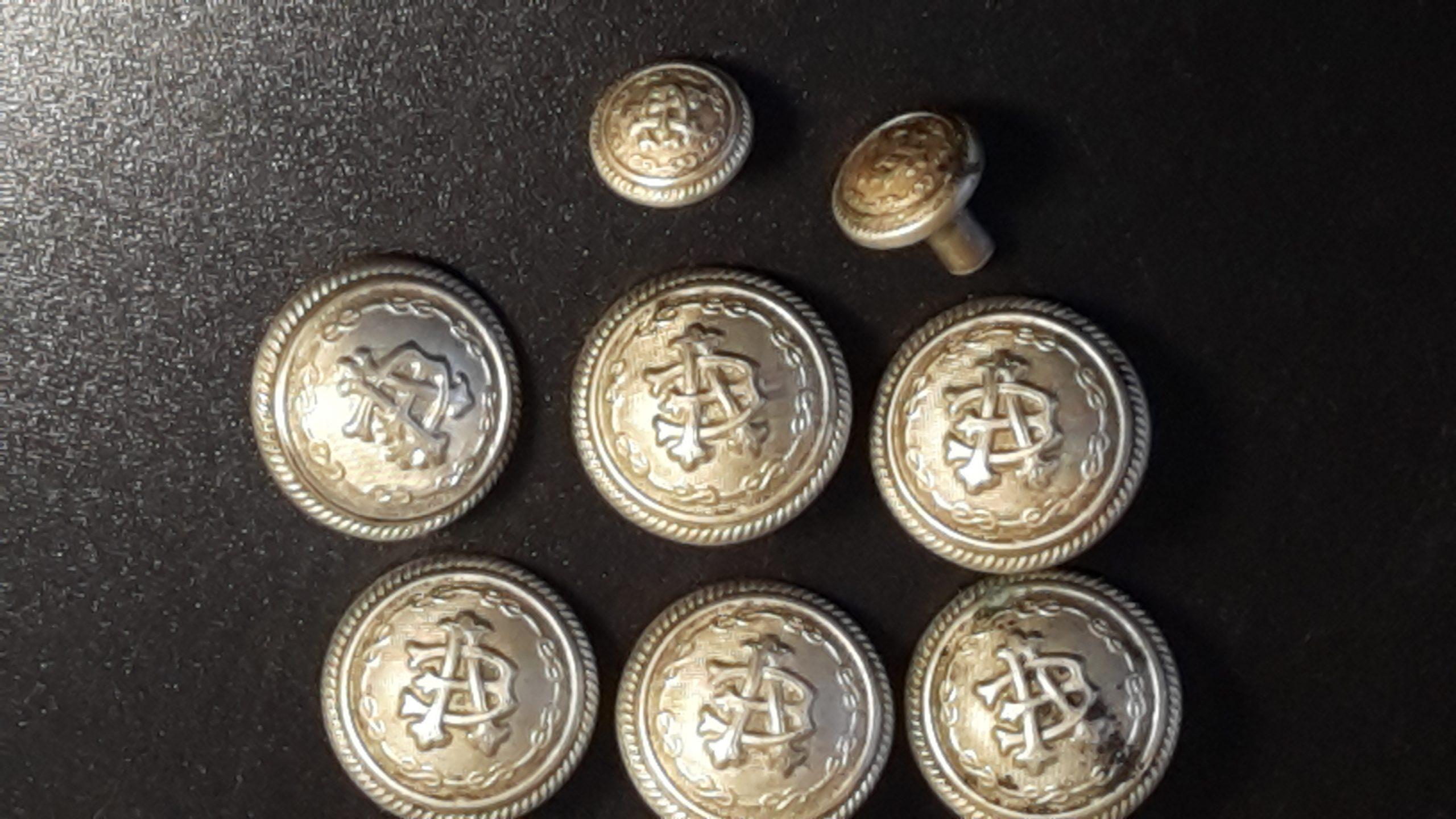 bottone ufficiale carabinieri reali