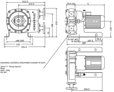 End Suction Water Pumps Screw Pump Wiring Diagram ~ Odicis