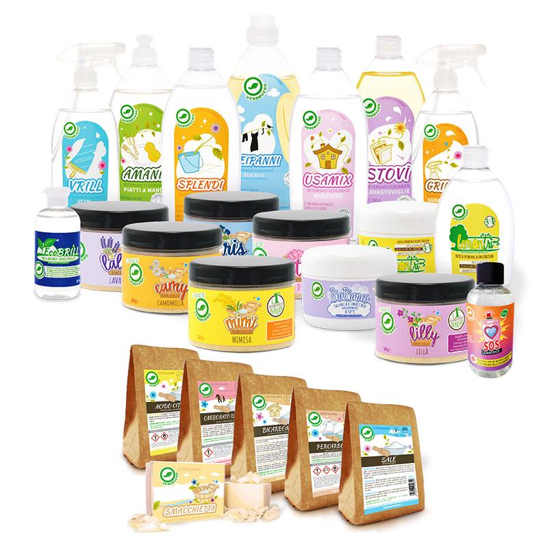 Tutti i prodotti Verdevero in una box  VerdeVero
