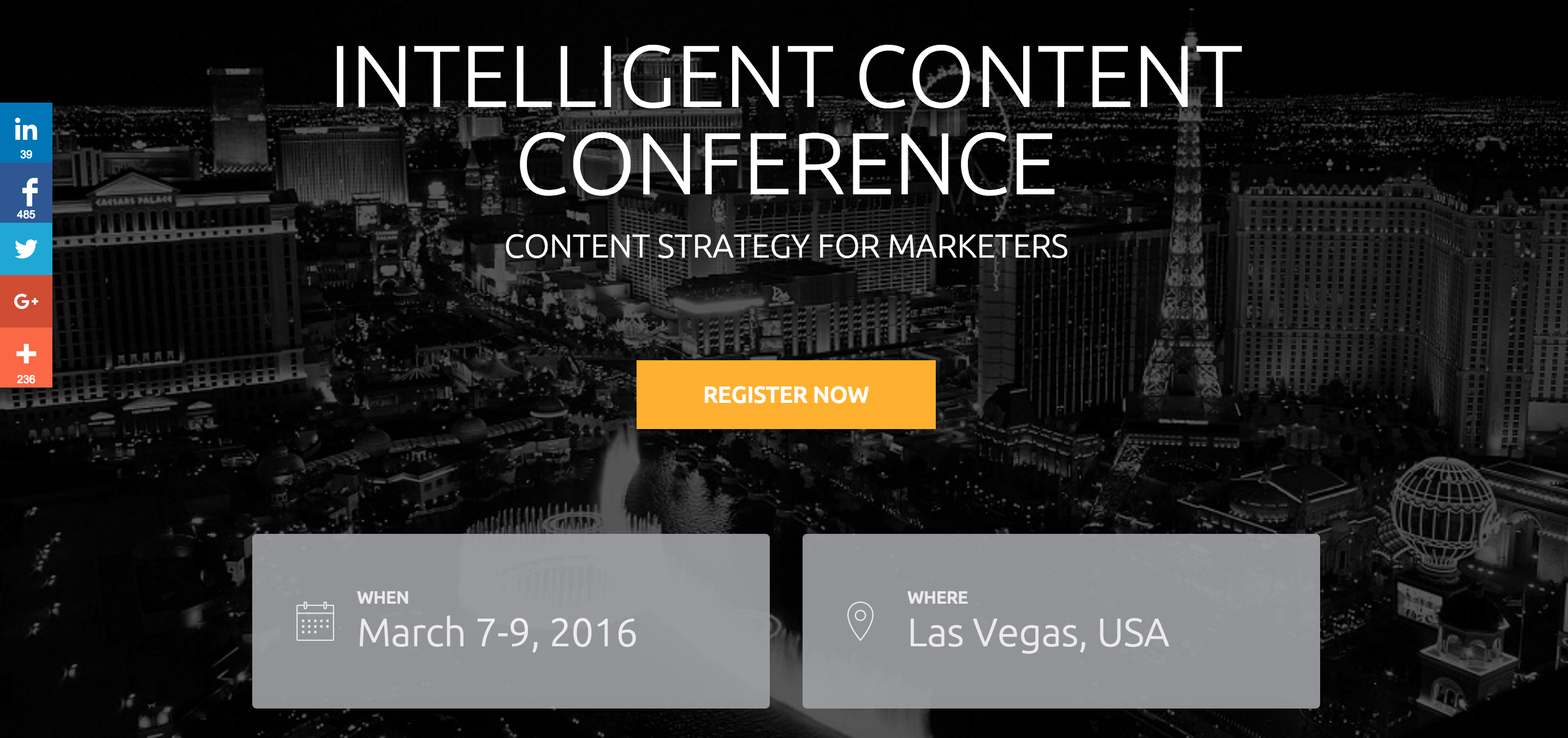 See Me Speak: 2016 Intelligent Content Conference