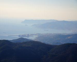 uitzicht kust Ligurie