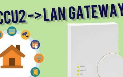 CCU2 in LAN Gateway umwandeln – so geht's!