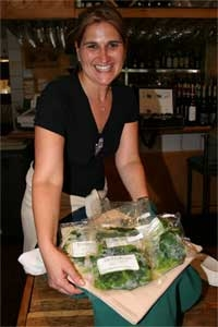 Angela Gismondi of Verdura Brand Frozen Gourmet Vegetables