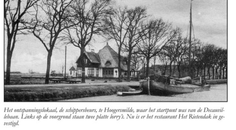 Smalspoor Oude Willem, de 'Decauvillebaan'