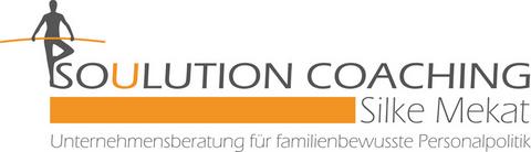 Soulution Coaching Silke Mekat Vereinbarkeit von Beruf und Familie Logo
