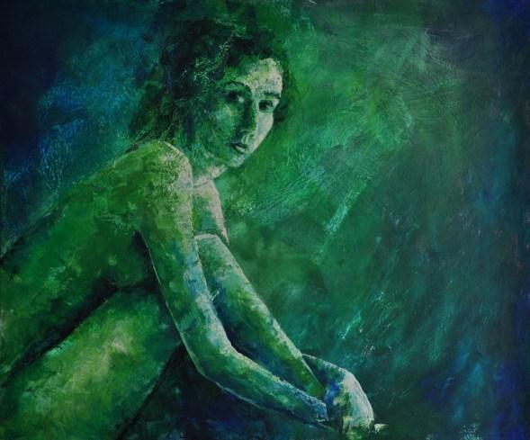 Helena, Acryl auf Leinwand, 120x100cm