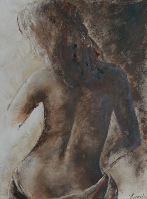 Delia, Acryl auf Leinwand, 60x80cm