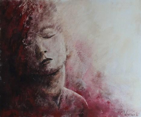 Kyra, Acryl auf Leinwand, 120x100cm