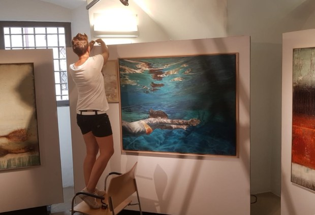 Vernissage kl. Galerie/Bozen