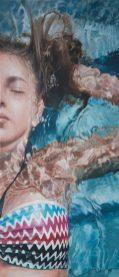 Stille... , Acryl auf Leinwand, 44x100cm