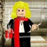 Verena als Lego-Männchen