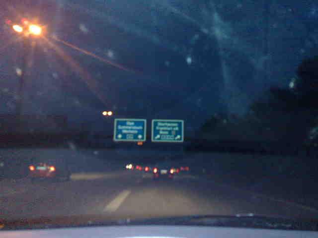 Autobahn nach Hause