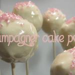 Champagner Cake Pops
