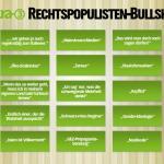 Das Rechtspopulisten Bullshit-Bingo