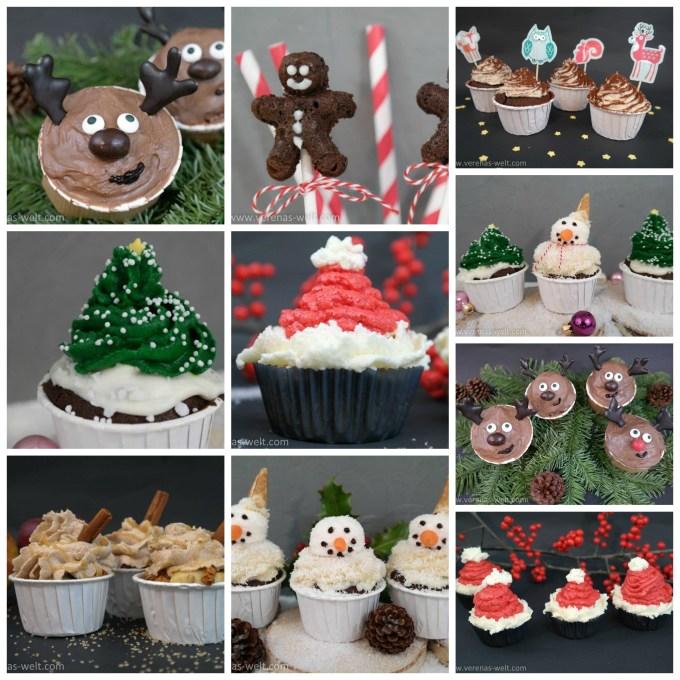 Tolle Cupcake-Ideen für Weihnachten!
