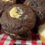 Chocolate Cheesecake Muffins