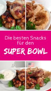 Die besten Snacks für den Super Bowl