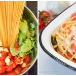 One Pot Pasta: Mit Cherry-Tomaten und Basilikum
