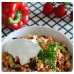 ouscous-Salat mit Joghurt