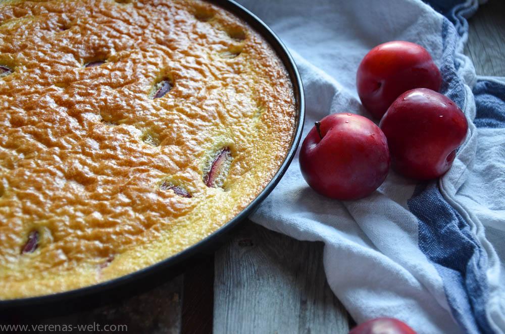 Französischer Pflaumenkuchen