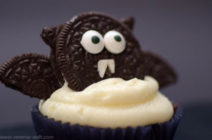 Fledermaus-Cupcakes