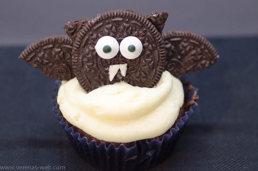 Fledermaus-Cupcake