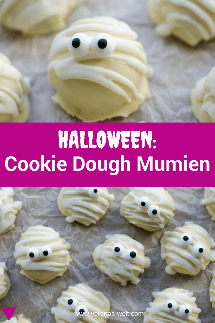 Halloween: Cookie Dough Mumien
